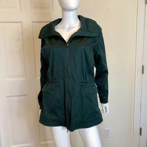 Lululemon Dark Green Lined Jacket